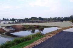 Gehwegbrücke ü.d. Nidda in Bonamese